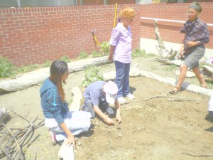 "Spring Planting at ""The Education Garden"""